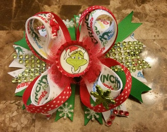 The Grinch, Dr. Seuss Hairbow