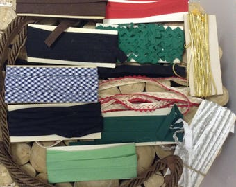 Various Vintage Notions, Binding, Seam Tape, Edging