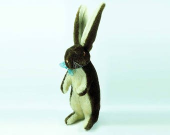 Antique Steiff Begging Rabbit-Circa 1920-1930