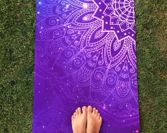 "Yoga mat ""Galaxy"""