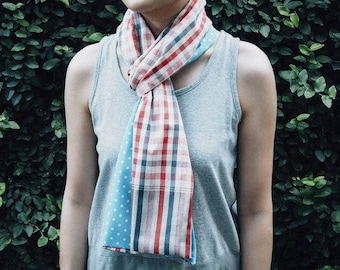 Thai Cotton Dotty Scarf