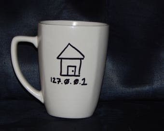 There's no Place like 127.0.0.1 Mug