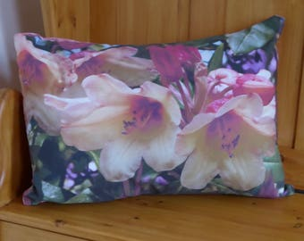 Floral large cushion