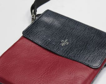 Bag cross 100% cow leather