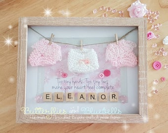 Baby Girl/Boy Craft Frame, Gift, Birth, christening