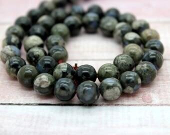 Que Sera Round Polished Round Genstone Beads (4mm 6mm 8mm 10mm)