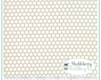 Bonnie & Camille Basics, Moda Fabrics, Dot Gray, Yardage, The Good Life