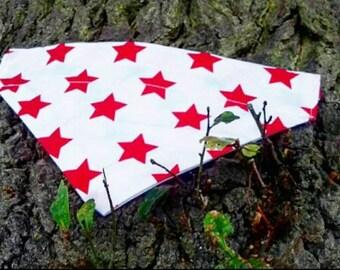 Red stars Bandana