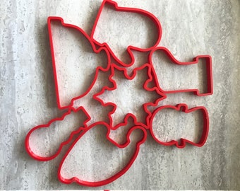 Winter Cookie Cutters - Choose any 4