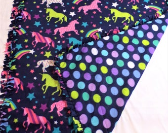Unicorn Party Fleece Blanket