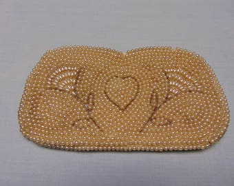 Vintage Pearl and Beaded Ladies Clutch Made For La Regale Japan