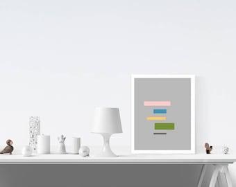 Abstract Art - Art Print - Abstract Wall Art - Minimalist - Simple Decor - Wall Art - Abstract Art - Home Decor - Home Print