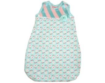 Size XS, Sleep sack,Baby sleep sack, Baby blanket, Baby Sleeper, Baby Sleeping bag, Baby pajama,Swaddle, Baby Gift, Baby Shower Gift, Bumber
