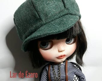 Retro Cap hat for blythe doll