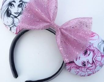 Princess Sketch Mickey Ears