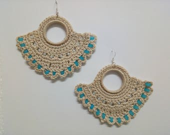Sky Fan Earrings