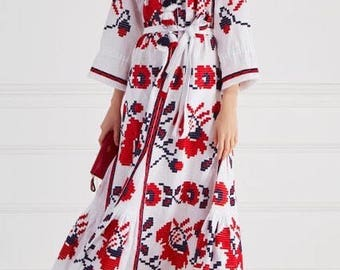 Fashion embroidered dress ! FREE SHIPPING !