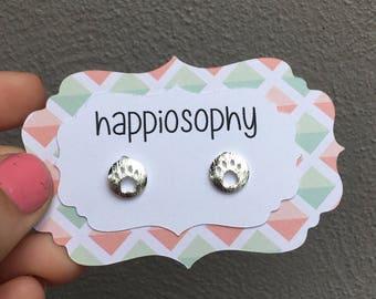 Paw Earrings, Dog Paw, Cat Paw Earrings, Paw Print Earrings, Animal Earrings, Pet Lover Earrings, Dog Earrings, Girls Earrings, Necklace