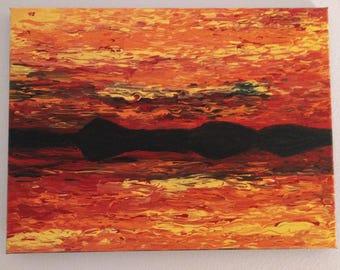 Painting - Fiery Venus