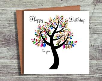 Birthday Card, Card For Friend, Friendship Card, Blank Card, Greeting Cards