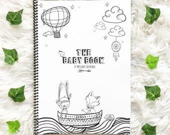 Boho Baby Book Keepsake Journal dreamer