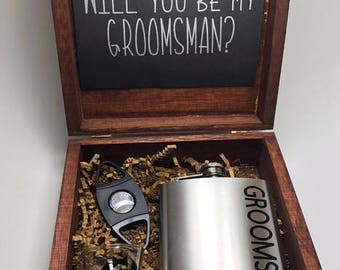 Groomsman proposal  Will you be my groomsman  Groomsman Proposal   Best Man proposal  Groomsman Gift  will you be my best man  best man gift