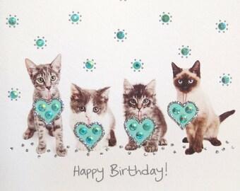 Sweetest Birthday Kittens