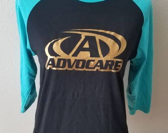 Teal and Gold Advocare Jersey