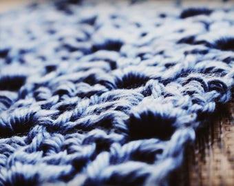 Reptile hammock - Stoneware blue