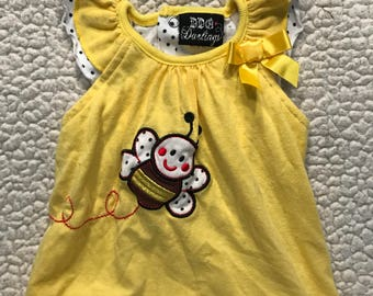 Yellow with Bumble Bee Puppy Shirt