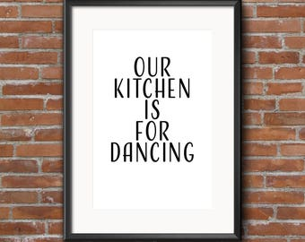 Kitchen Dancing #1