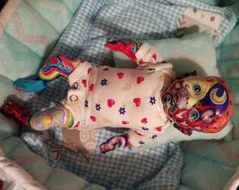10 inch baby fairy reborn doll