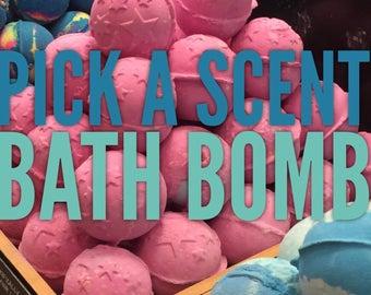 Pick Your Scent Bath Bomb