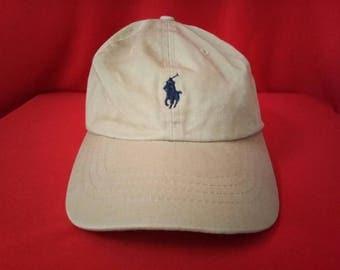 vintage polo ralph lauren baseball cap hat