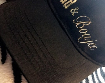 Bad & Boujee baseball hat