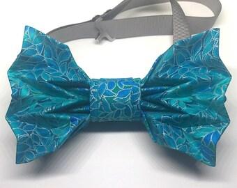 The Pioneer - AquaBOLD Origami Bow Tie