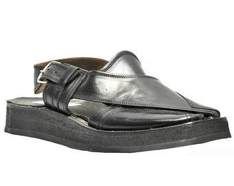ON SUMMER SALE Weber Handmade Mens Leather Sandals With Double Sole.