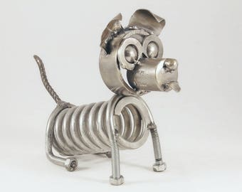 Metal Art. Little dog