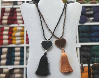 Necklaces with onions