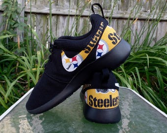 Pittsburgh Steelers Shoes-Nike Roshe One Men's and Women's