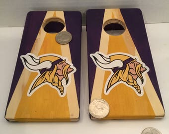 Minnesota Vikings Coin Hole Quarter Game