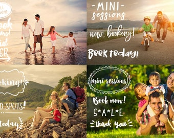 Photography Overlays -  Now Booking - Png format-  Photoshop Overlay - Hand letter - Photo Session Marketing - Social Media Template - Sale