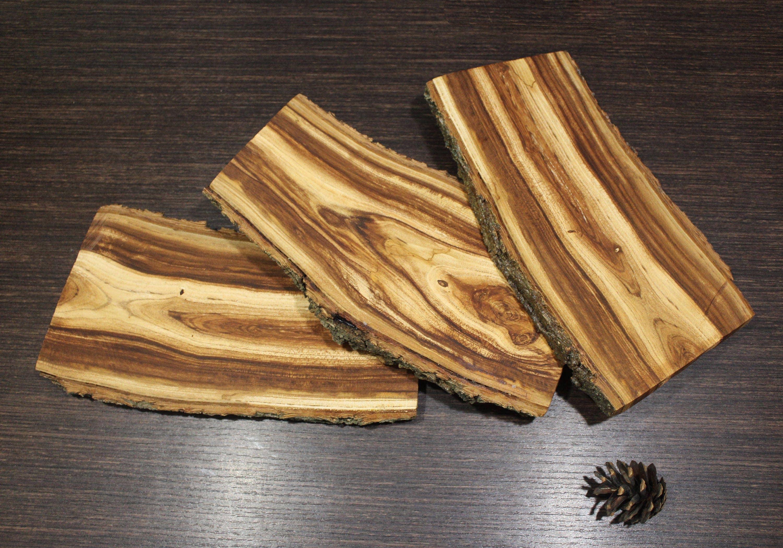 Apricot slabs wood slab tree core with bark planks