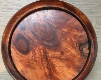 Beautiful Grained Cedar Wood Coasters
