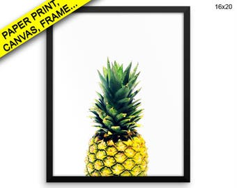Pineapple Wall Art Framed Pineapple Canvas Pineapple Framed Wall Art Pineapple Poster Pineapple Nature Art Pineapple Nature Printed Print