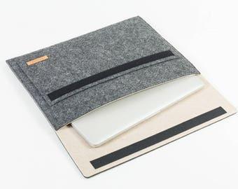 Laptop bag, laptop case, laptop sleeve, MacBook, Apple, tablet bag, tablet case, tablet sleeve, sizes XS-S-M-L-XL [Esma size XL]