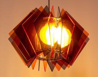 Wohnzimmertisch Lampe Pendellampe Glas Tisch Leuchte Esstisch Esszimmer Gerade Lasercut