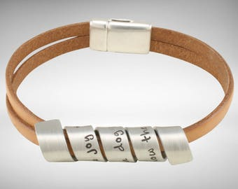Dog lovers gift | Dog Lover | Pet Lover | Secret Message Bracelet - To know the love of a dog is to know joy.  -  by Twisting Thoughts