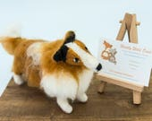 Needle felted rough colli...