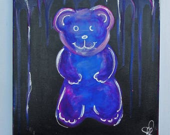 Purple Gummy Bear